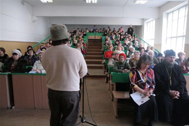 А. Гезалов проводит семинар